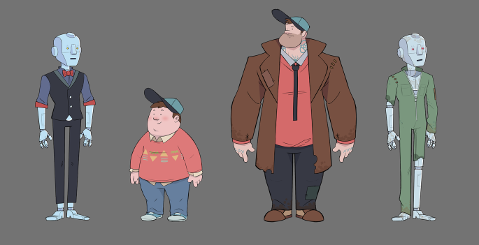 Rob and Detective Boy Original Designs