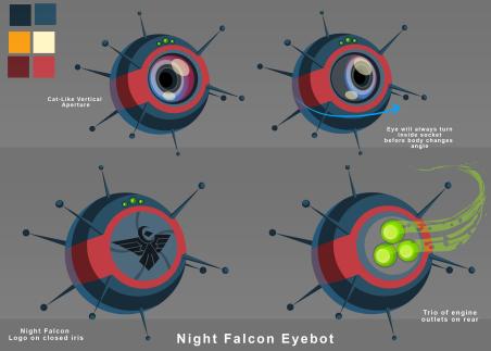 Eyebot Design